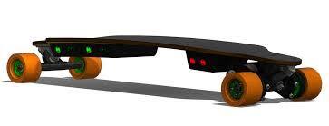 Elektryczny longboard części